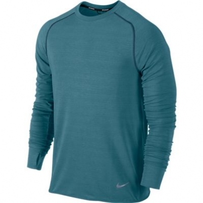 Mens Nike Dri-fit Sprint Crew - rift blue