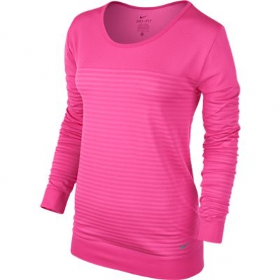 Womens Nike Seamless Epic Crew