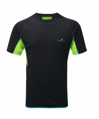 Mens Ronhill Advance S/S Crew Black